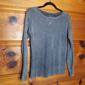 American Eagle Distressed Thermal Sweater Size S